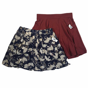 NWT Old Navy Pleated Skirt Bundle- Size M